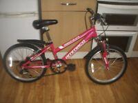 """Girls Ammaco Sienna 6 Speed 18"""" Wheel Mountain Bike Superb Condition Age 6+"""