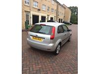 FORD FIESTA 1.2 PETROL SILVER LOW MILEAGE WEL MAINTAINED