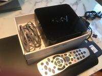Sky + HD box and Broadband Router