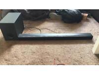 Sony Bluetooth soundbar and Subwoofer