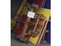 FREE COLOUR PARTITION COATED WOODEN BOARDS 8X4 ISH, STRONG LIKE WATERPROOF MDF / CHIPBOARD /MELAMINE