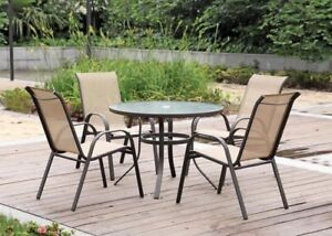 WANTED patio set