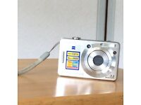 Sony Cyber-shot DSC-W55 Digital Camera - Silver (7.2MP, 3x Optical Zoom) 2.5 inch LCD