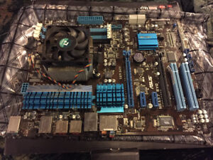 ASUS M5 A97 EVO mother board with AMD FX 4130 AM3 + 3.8GHz Micro