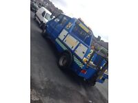 Ford iveco 2.5 turbo speclift recovery truck 7 seater
