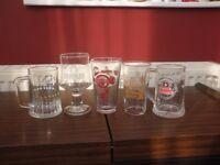 Half Pint & Pint Glasses and Tankards