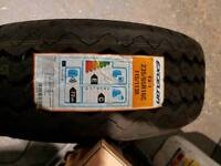 Sprinter spair tyre and rim new tyre