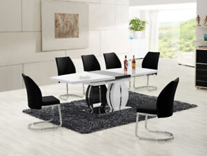 Warehouse Sales$$999 FOR 7PC BRAND NEW LARQUE DINING SET