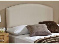 Dreams 5ft King Size Malibu Headboard - Classic Beige