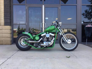 CUSTOM BOBBER SPORTSTER BASED