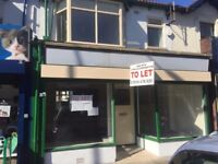 Shop with 3/4 bed flat above + garage, Fleetwood town centre lancashire