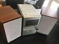 Panasonic Stereo and DVD Player