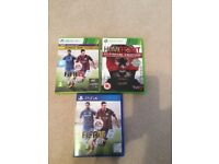 PS4 games and Xbox 360 game
