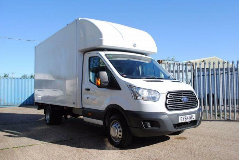 2014 - FORD TRANSIT LUTON WITH TAIL LIFT, T350, 124 BHP, EURO 5 DIESEL, £14,995