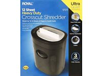 Royal 1212X 12-Sheet Crosscut Shredder