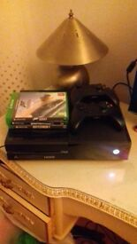 xbox one 3 games 2 controllers all wires comes boxed