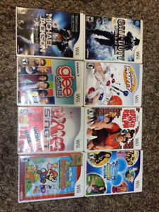 Wii Games for $10.00 each
