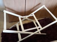 Mamas and Papas moses basket stand excellent condition