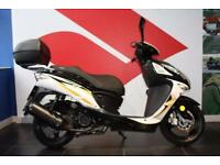2016 16 SINNIS SHUTTLE 125 BLACK LOW MILEAGE
