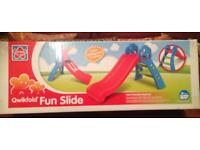 Kids fun slide