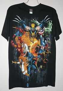 MARVEL super heroes licensed tee