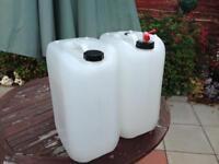 25L water storage