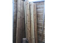 Fence posts 4x4