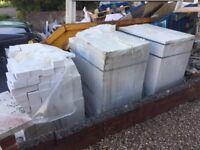 940 White Bricks for Sale