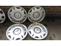 "Genuine Mercedes Vito Wheel Trims 16"" Set of 4"