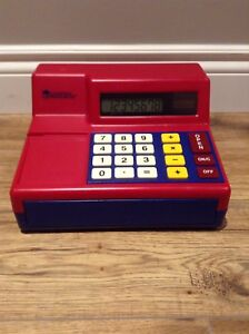 LEARNING RESOURCES Pretend & Play calculator cash register $25