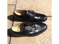 Black gents Clarks shoes size 7 new