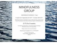 8 WEEK MINDFULNESS GROUP - WED EVE - 7-9pm- 6th SEP 2017 - STOKE NEWINGTON/HACKNEY/HIGHBURY/FIN PARK