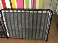 Used Jay-Be Auto Folding Bed with Airflow Mattress - Double