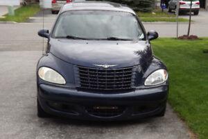 2001 Chrysler PT Cruiser limited Sedan