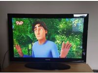 Samsung 42 inch Widescreen HD Plasma Television - With Freeview
