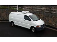 2005 toyota hi ace fridge van 7 months psv 1 owner from new ,
