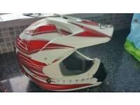 Motocross helmet youth large