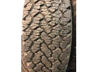 235/70/16 tyres Land Rover