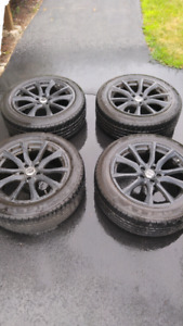 """18"""" RTX rims and tires"""