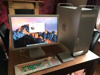 Apple Mac ( i5 Power Mac / Hackintosh Mod Upgrade) + Cinema display + keyboard + Touchpad