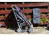 Maclaren Purple & Grey Techno XLR Pushchair