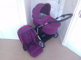 Mamas and Papas Zoom Carrycot and Pushchair Package