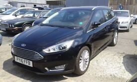 Ford Focus 1.5 EcoBoost Titanium X 5dr (start/stop)£13,495 p/x welcome 1 YEAR FREE WARRANTY. 1 OWNER