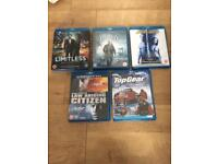 Blue ray dvds HD excellent condition l@@k