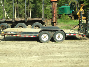 2008 LOADTRAIL 14,000 LBS TRAILER