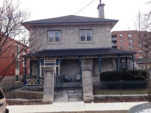 LOTS OF CHARACTER! GREAT LOCATION W/PARKING! 3- 203 King St E