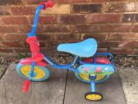 Peppa pig toddler bike