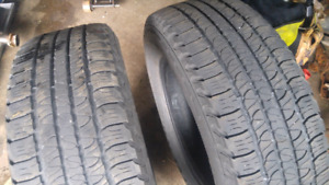 Two 255/65R18