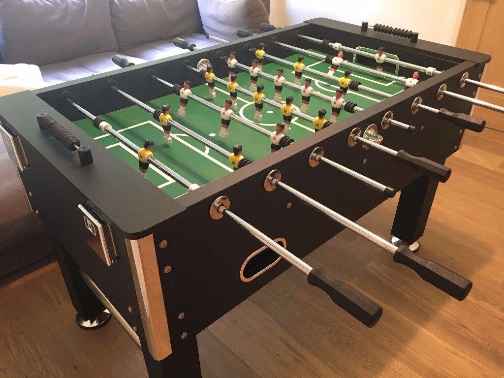 Jago Football Table Soccer Play Family Sport Games Black In Good