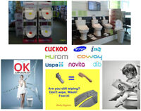 SALE $50~70 off only this month for Bidet... in Manitoba...,,,,